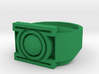 Green Lantern Ring 13 V3 3d printed