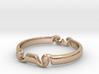 Spiral ring(size = USA 5.5)  3d printed