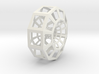 Polygonal torus 3d printed