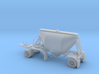 S-scale 1/64 Shorty Dry Bulk Trailer 07a 3d printed