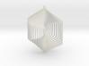 Pendant Wind Spinner 3D Hexagon 3d printed