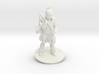 Chris M. As Warrior Girl 3d printed
