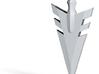 Arrow Head pendant  3d printed