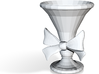 American Girl Doll Scale Untextured Courtly Vase 3d printed