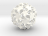 Multitudinous Möbius (2 in) 3d printed