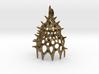 Calocyclas Radiolarian pendant 3d printed