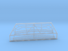 1:90 HMS Victory Stern Gallery Decoration 3d printed