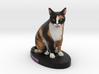 Custom Cat FIgurine - Quin 3d printed