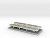 Whelen lightbar 22,6 mm 4stuks 1/43 3d printed