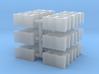 Cinder Block 15mm (18) 3d printed