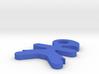 I3D LLAVERO WOMAN 3d printed