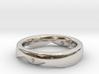 Swing Ring half barrel shaped Diameter 17 mm 3d printed