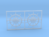 1:96 HMS Victory Ships Wheel 3d printed