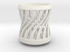 Tea Candle Double Spiral 3d printed
