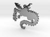 Dragon Necklace Pendant 3d printed