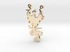 Phoenix Rising Necklace Pendant 3d printed