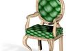 1:144 Micro Scale PinePale Oak Louis XVI Chair 3d printed