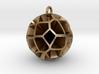 Voronoi sphere 3 3d printed