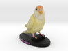 Custom Bird Figurine - Sunshine 3d printed