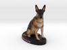 Custom Dog Figurine - Stryker 3d printed