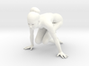Yoga Girl-009 scale 1/18 Passed 3d printed