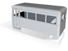 OO9 railcar single end  3d printed