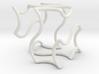 Gyroid chunk frame 3d printed