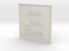 1:24 Church Sign 3d printed