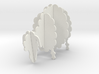 Wooden Sheep A 1:12 3d printed