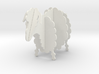 Wooden Sheep B 1:24 3d printed