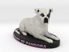 Custom Dog Figurine - Pandora 3d printed