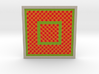 0176 Optical Illusion picture A (10cm) #002 3d printed