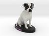 Custom Dog FIgurine - Miller 3d printed
