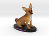 Custom DOg Figurine - Sherman 3d printed