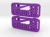 """SB Insiders"" Lacelocks (1 pair) 3d printed"