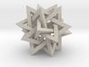 Tetrahedron 5 Compound, quadrilateral struts 3d printed