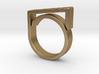 Adjustable ring for men. Model 2. 3d printed