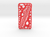 iPhone6 Case Lizard (Extreme Voronoi Edition) 3d printed