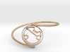 April - Bracelet Thin Spiral 3d printed