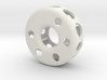 Hollow wheel 3d printed