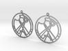 Ramisa - Earrings - Series 1 3d printed
