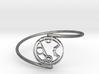 Merryn - Bracelet Thin Spiral 3d printed