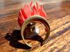 Fire Element (clips onto Swap-ring) 3d printed