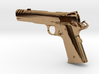 1:12 scale 1911 pistol with compensator 3d printed