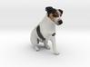 Begging Jack Russell Terrier 3d printed