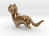 New Zealand Stoat charm 3d printed