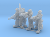 Female Stealth Gang with Automatic Rifles 3d printed