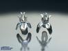 IRIS Earrings 3d printed