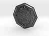 Octagon Rune Amulet 3d printed