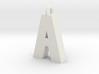 Alphabet (A) 3d printed Collection: Alphabet